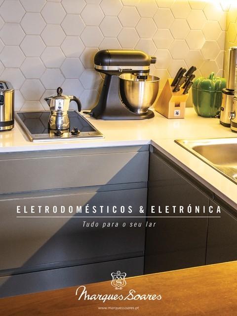eletrodomésticos e eletrónica