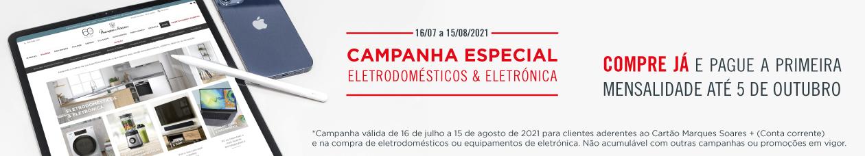 campanha eletrodomésticos e eletrónica