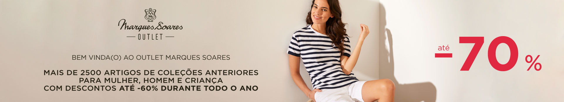 Outlet Marques Soares outono inverno