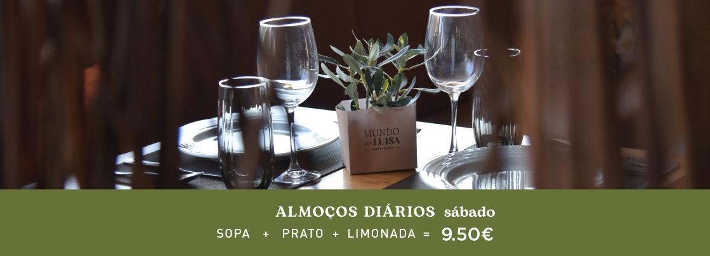 restaurante mundo de Luisa na marques soares