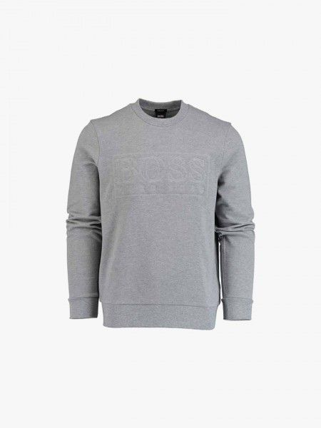 Sweatshirt com texto