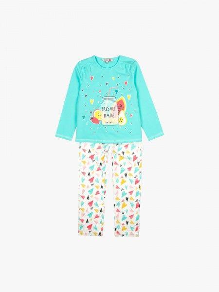 Pijama de camisola e calça