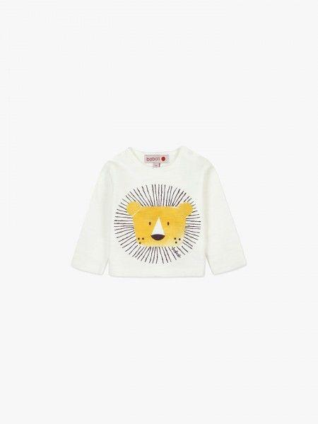 Sweat-shirt com leão