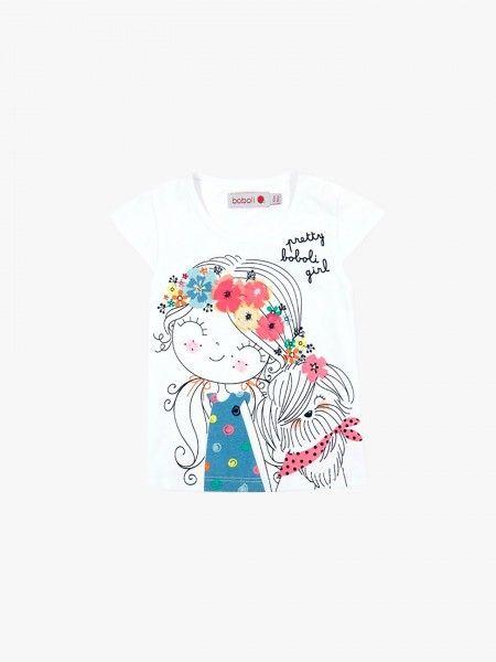 T-shirt com boneca