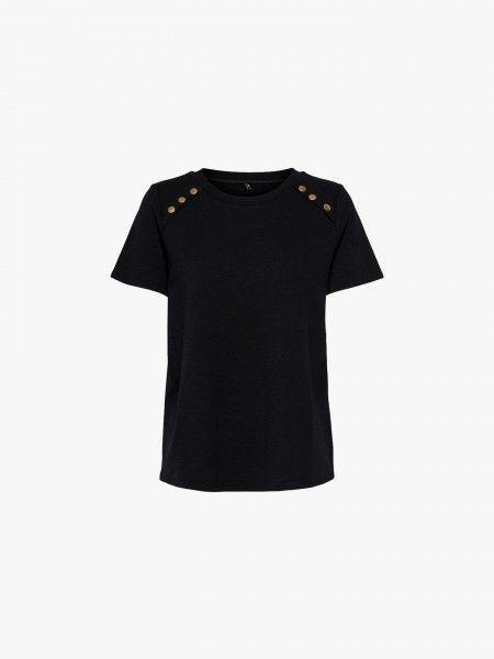 T-shirt com botões