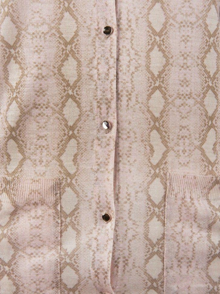 Conjunto de casaco e camisola de malha