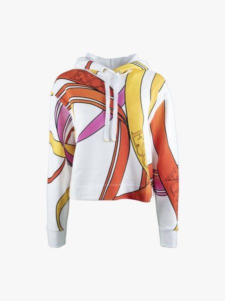 Sweatshirt curta