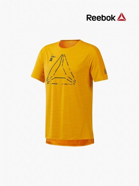 T-shirt com tecido de rede