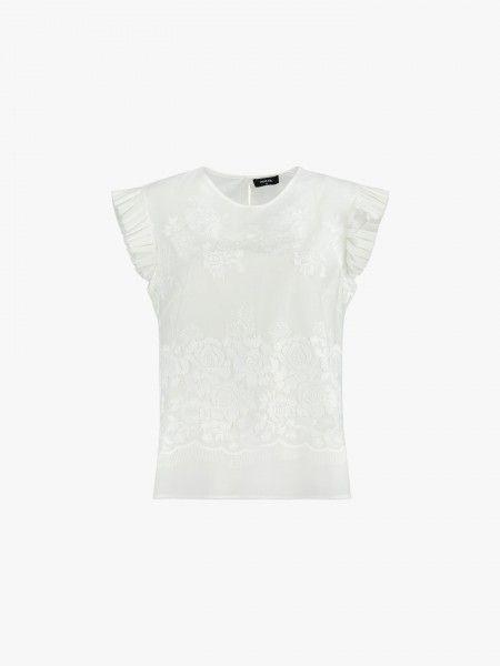 T-shirt rendada