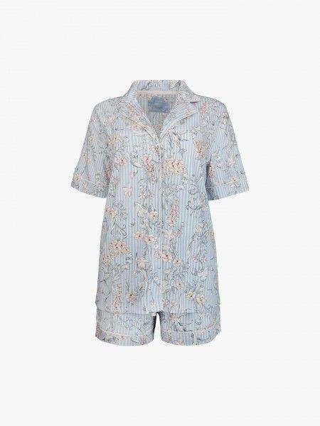 Pijama de padrão floral