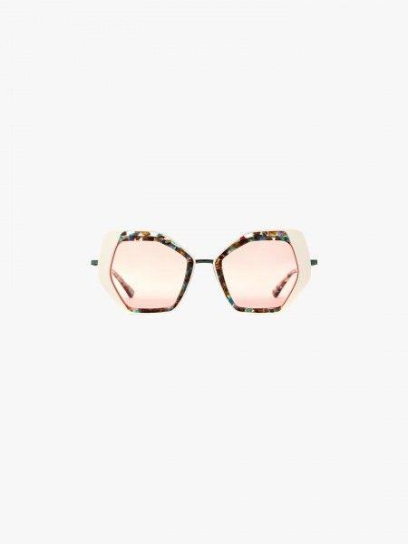 Armação de óculos multicolor