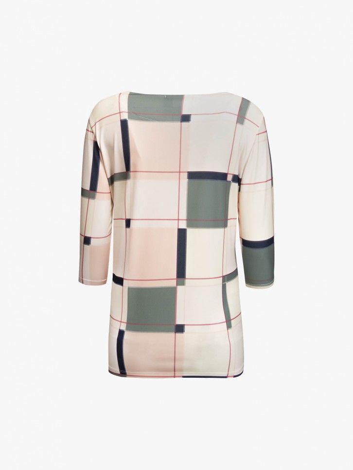 Camisola padrão geométrico