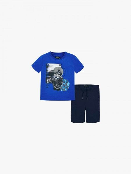 Conjunto t-shirt e calção
