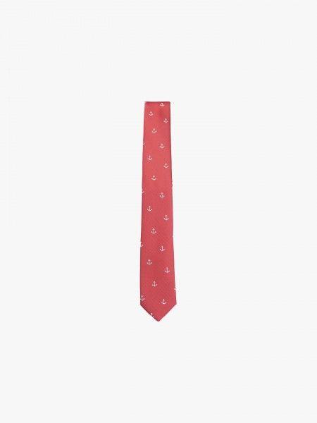 Gravata estampada