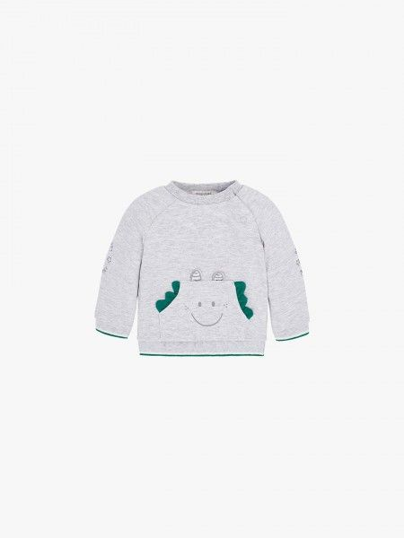 Sweatshirt bolso canguru