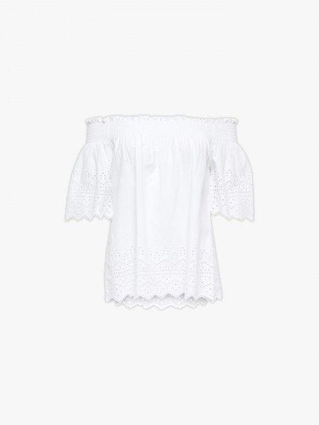 Blusa rendada
