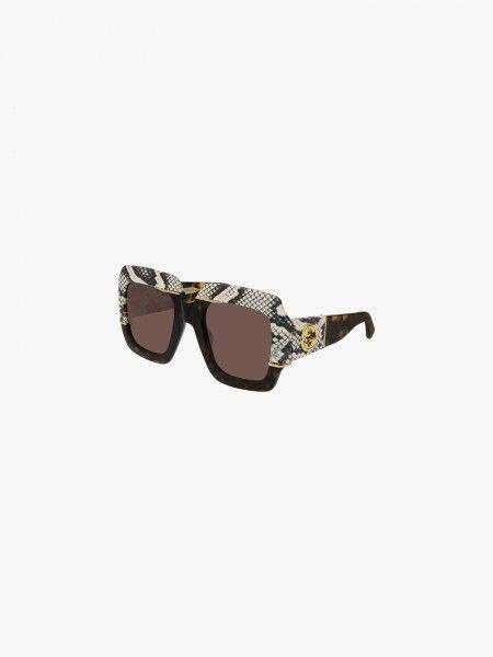 Óculos de sol com padrão