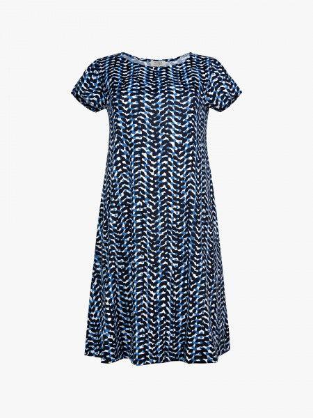 Vestido padrão geométrico