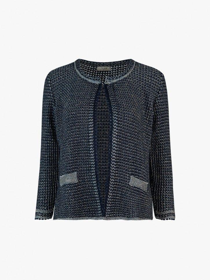 Casaco tricotado