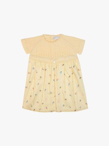 Vestido de bebé combinado