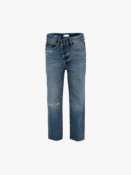 Mom jeans rasgão