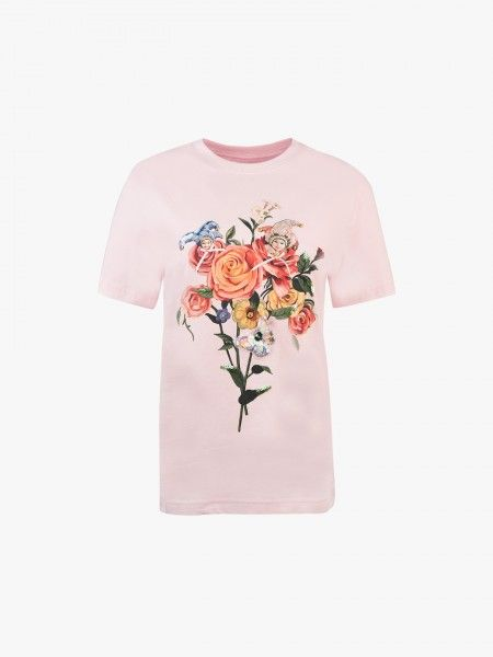T-shirt com aplicações