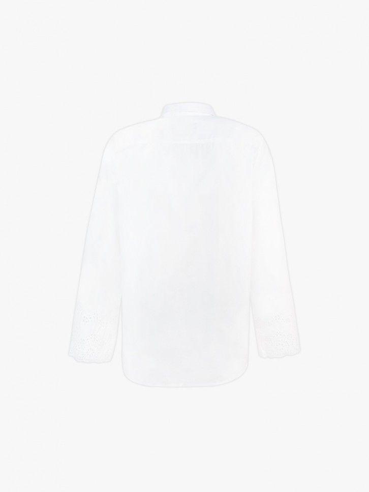 Camisa com renda