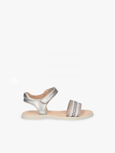 Sandália com velcro