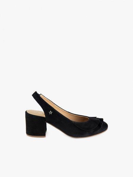 Sapato com folho