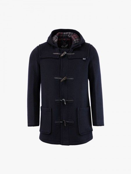 Doufle-coat com capuz