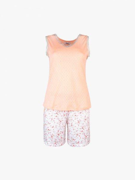 Pijama de top e calções