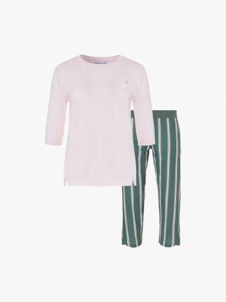 Pijama de t-shirt e calças