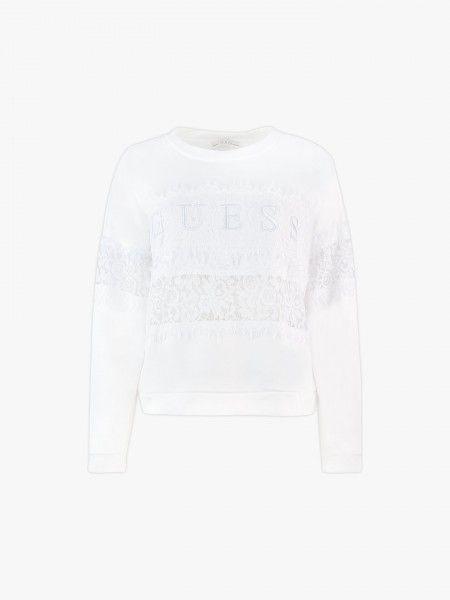 Sweatshirt rendada
