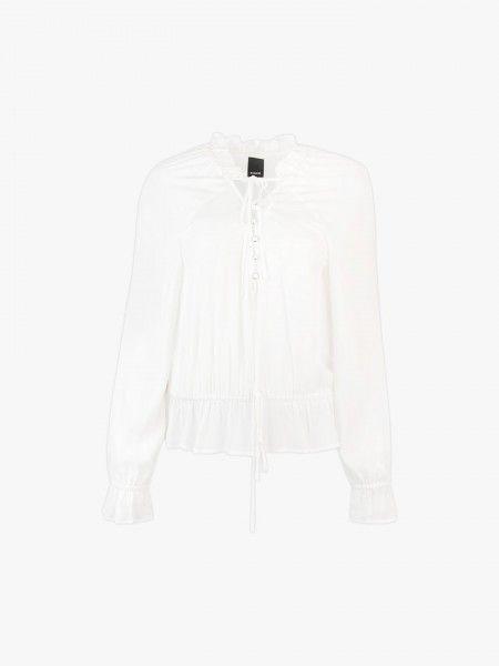 Blusa abotoada