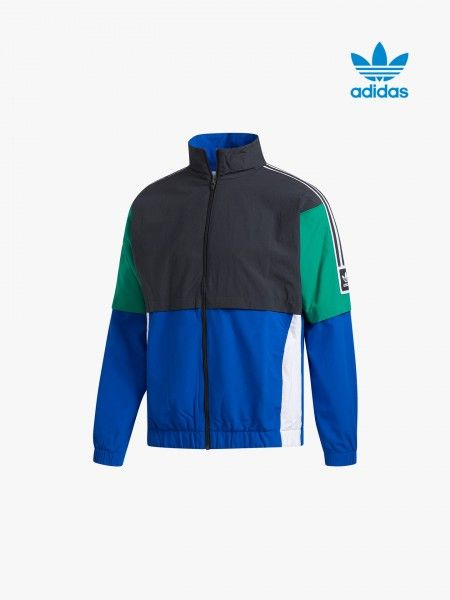 Blusão desportivo multicolor