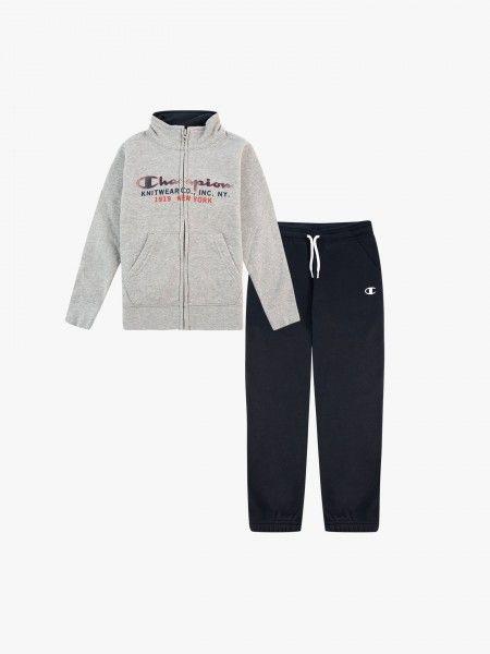 Conjunto casaco e calças fato de treino