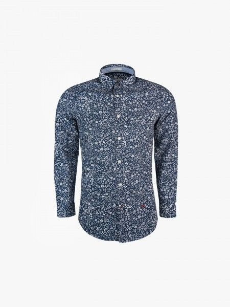 Camisa Slim Fit estampado floral