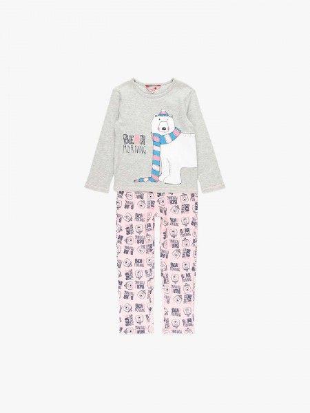 Pijama camisola e calça