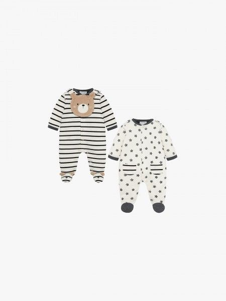 Conjunto 2 babygrows