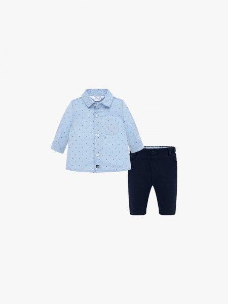 Conjunto calça e camisa
