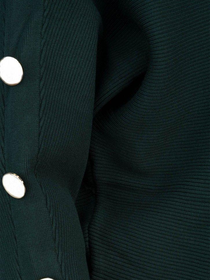Camisola com botões nas mangas