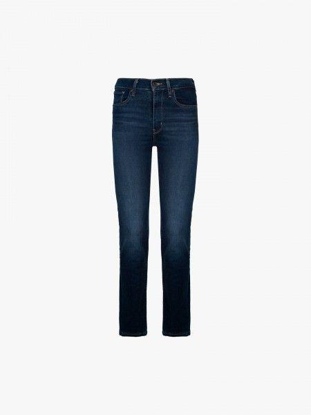 Jeans 724 de cinta subida