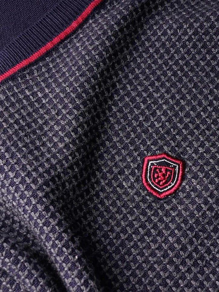 Pullover tricolor