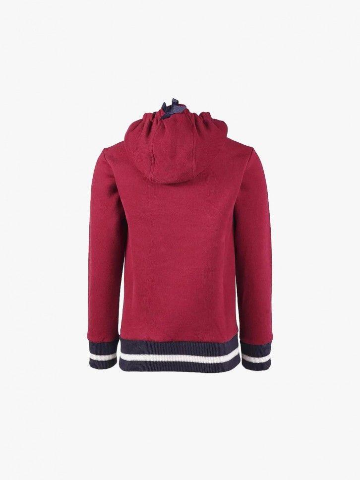 Sweatshirt com saliência