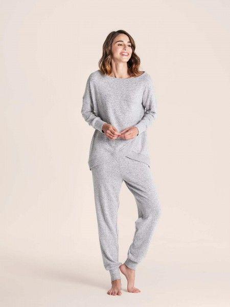 Pijama efeito mesclado