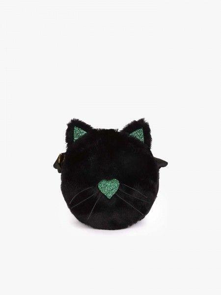 Carteira de traçar em formato de gato