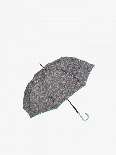 Guarda-chuva com estampado floral