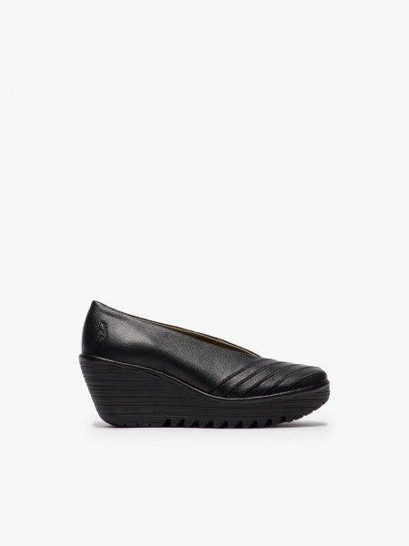 Sapatos sola compensada