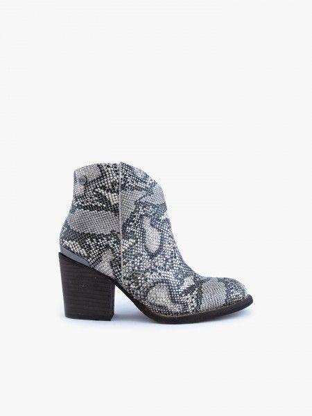 Botins com animal print