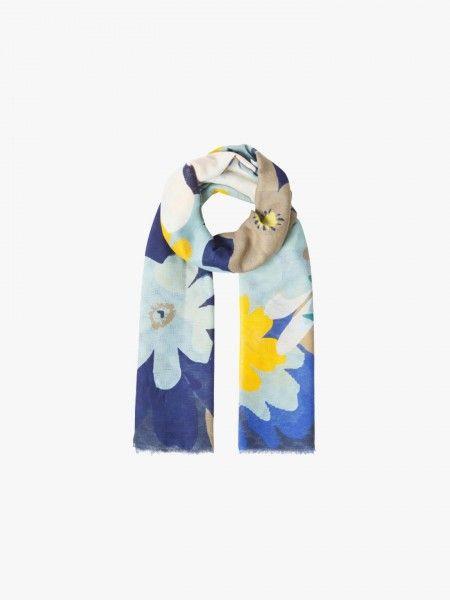 Écharpe estampado floral